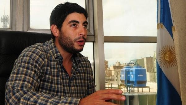Facundo Moyano presentó su proyecto para Ganancias