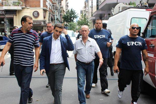 Asesinan a un barra, que era custodio de Andrés Rodriguez