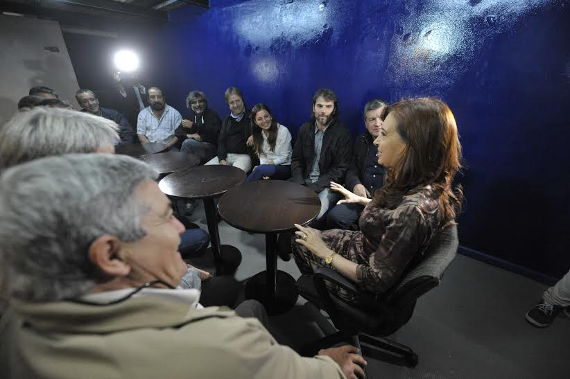 CFK se reunió con sindicalistas y hablaron de la «alarmante» situación laboral