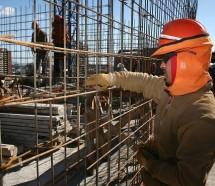 El empleo en Construcción se vino abajo