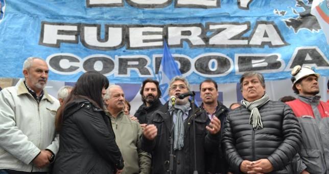 Las centrales obreras marcharon en Córdoba a 47 años del Cordobazo