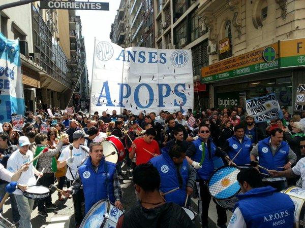 APOPS ya rechazó la posible réplica del acuerdo paritario estatal en ANSES