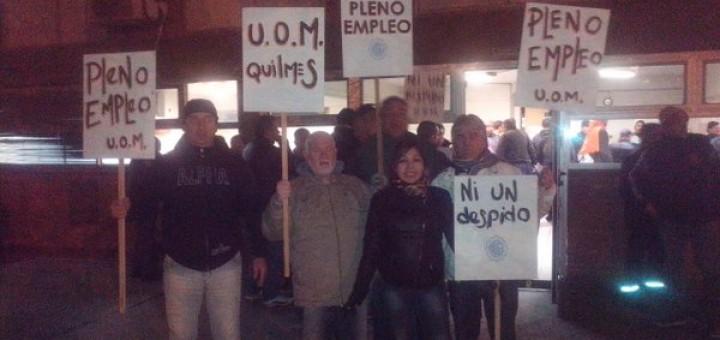 70 despidos y ocupación de una metalúrgica en Quilmes