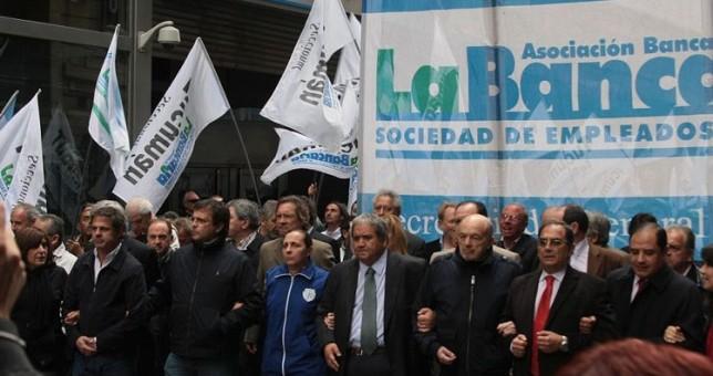 Bancarios se suma a la marcha del 2 de junio