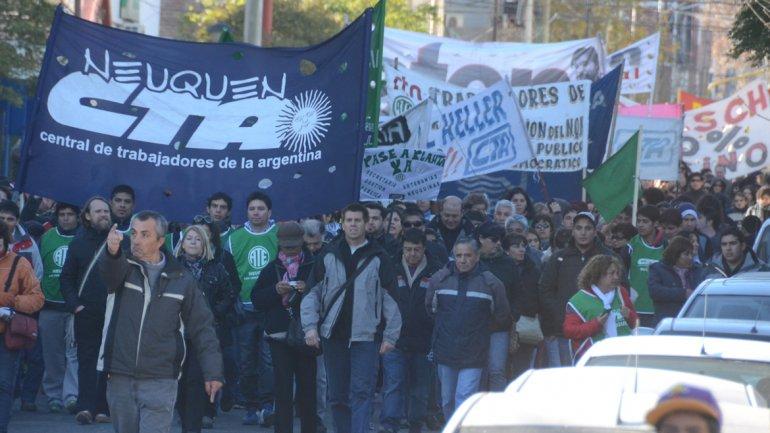 Neuquén: la CTA marchará por tarifas diferenciadas en la Patagonia