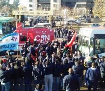 Paro contra el vaciamiento y 300 despidos en Expreso Lomas