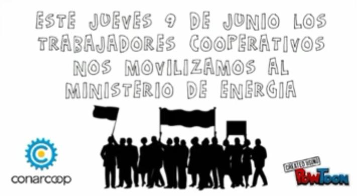 Marcha contra el tarifazo y por la renuncia de Aranguren