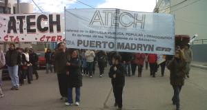 Paro docente tras el receso invernal en Chubut