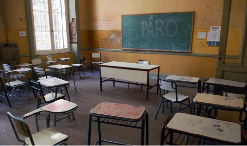 Paros docentes en 6 provincias
