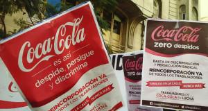 Coca Cola tendrá que reincorporar a un despedido por marchar el 24 de Marzo