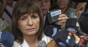 Patricia Bullrich justificó la represión de Gendarmería