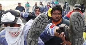 Brutal represión con balas de plomo a trabajadores del Ingenio El Tabacal