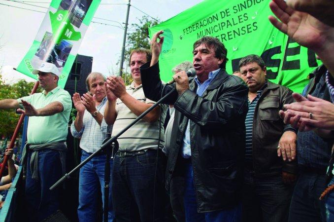 Marchan los municipales bonaerenses para exigir la plena aplicación de la Ley