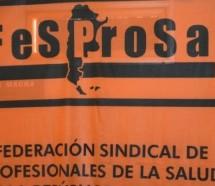 FESPROSA acordó un paro de todos los hospitales del país