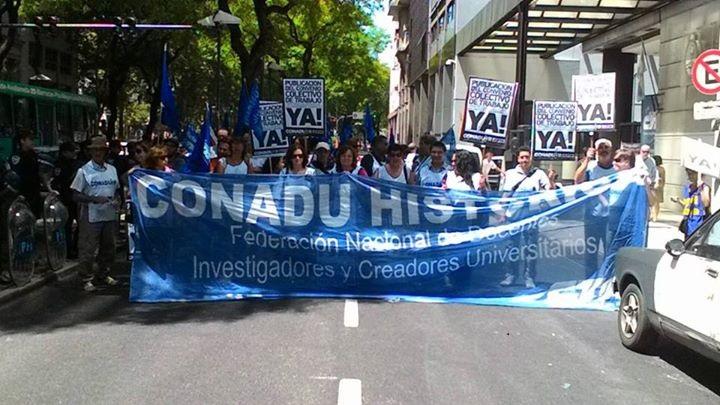 Los docentes universitarios también paran el 27 y piden volver a discutir salarios