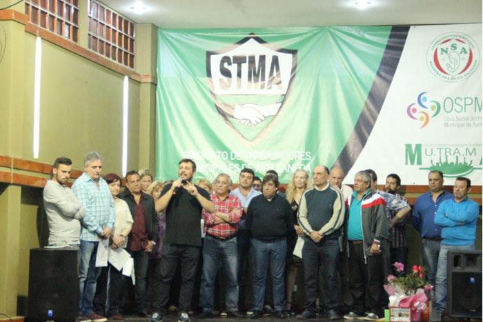 Tras 20 años al frente de STMA, García entregó el mando a Doval