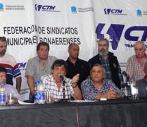 Municipales piden que la CGT active el paro para conseguir reapertura de paritarias