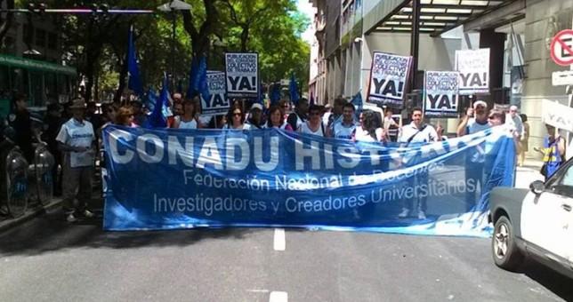 Nuevo paro de 48 horas de docentes universitarios por reapertura de paritarias
