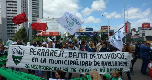 Paritaria de Avellaneda terminó con represión y heridos