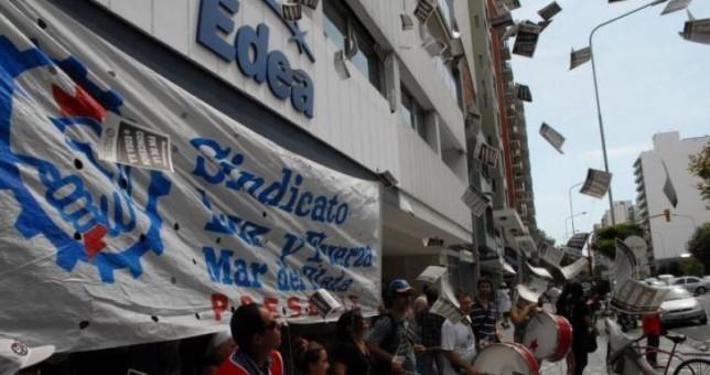 Luz y Fuerza de Mar del Plata adhirió al paro del 4 de noviembre