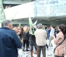 Tensión en Avellaneda por el despido de un municipal