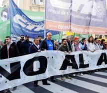 Las CTA y los Movimientos Sociales se movilizan contra el ajuste