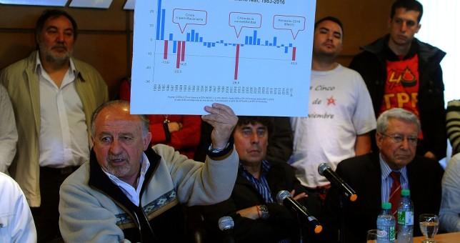 Yasky y Micheli ratificaron la protesta nacional de mañana