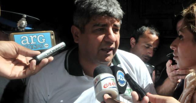 """Pablo Moyano: """"No firmé el acta porque el Gobierno miente"""""""