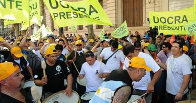 """Martinez denunció """"una decisión política"""" de frenar la obra pública que trajo miles de despidos"""