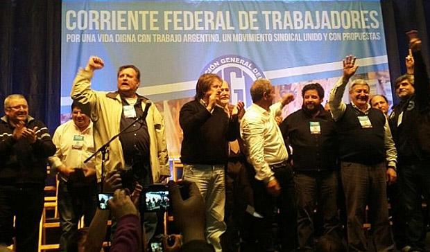 """La Corriente Federal reclamó el cambio de la """"política neoliberal"""""""
