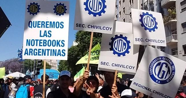 Al estilo de las Madres, la UOM hará rondas en Plaza de Mayo contra la apertura de importaciones