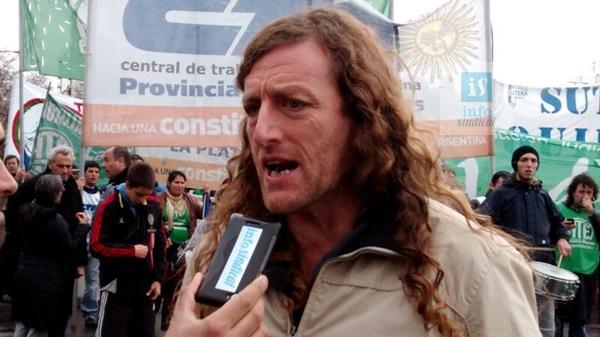 ATE vuelve a parar y moviliza en tierras de Vidal por reapertura de paritarias