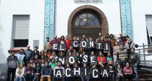 Festival endefensa del Centro Cultural Conti en la ex ESMA