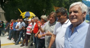 Movilización masiva por conflicto AGR-Clarín