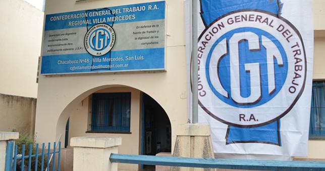 La CGT San Luis denunció una situación crítica
