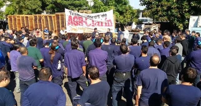 Denuncian vaciamiento de la planta gráfica de Clarín