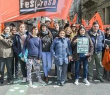 Movilización de SIPRUS de Rosario