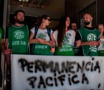 Despidos y violencia: ATE convocó al paro y movilización
