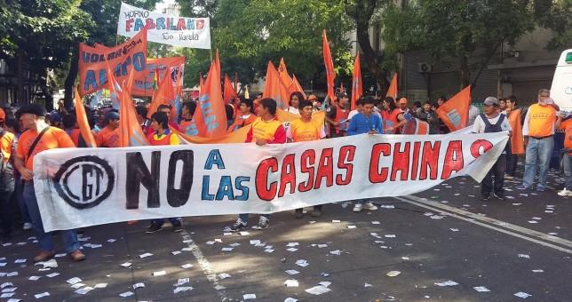 Todo importado: preocupación por la llegada de casas chinas