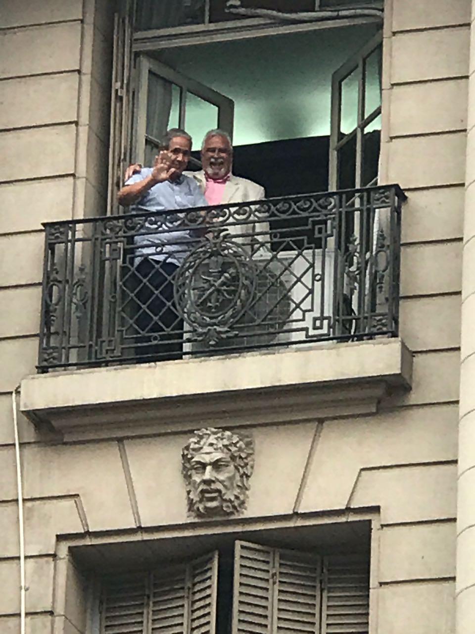 Un Radical en el balcón