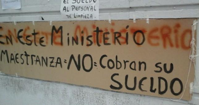 Antisindical: Triaca contrató rompehuelgas para atacar un paro en su Ministerio