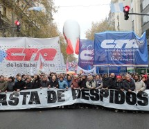 """Las CTA se proponen colmar la Plaza """"contra el ajuste"""""""