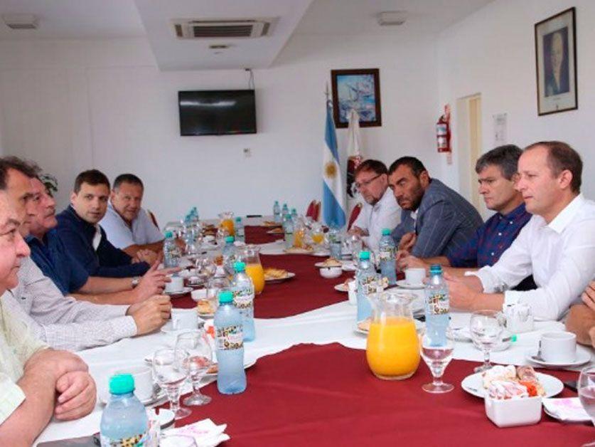 El MASA se mete en la campaña por Randazzo y se reunió con intendentes del conurbano