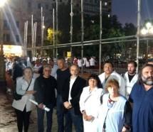 Tras la represión, el gobierno porteño permitió la Escuela Itinerante