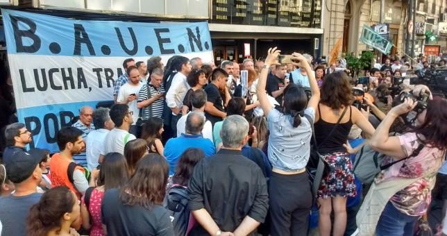 La justicia suspende el desalojo del Bauen