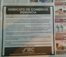 Escándalo en Comercio por la venta en supermercados de pañales para los afiliados