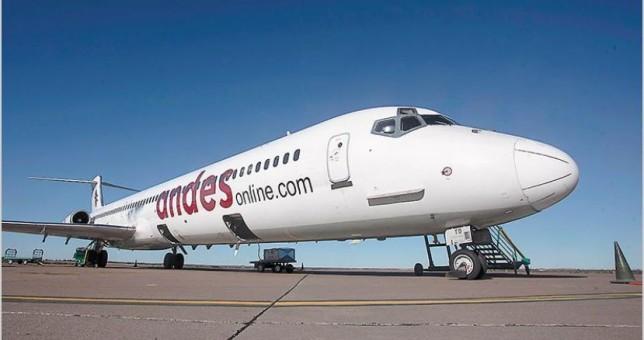 Lejos de la pauta oficial, Aeronavengantes acordó el 38,5% con la empresa Andes