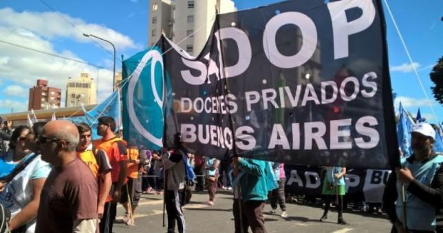 Docentes privados llevaron el reclamo de paritaria nacional a la OIT