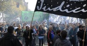 Los judiciales van a otro paro de 48 horas contra la gestión Vidal