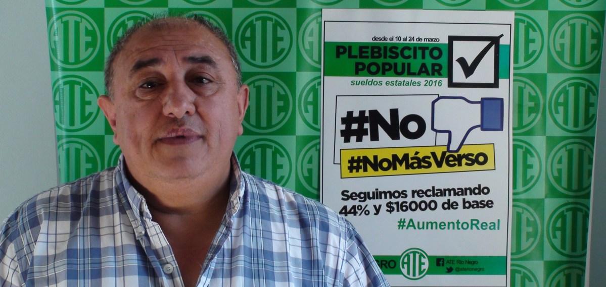 Detienen violentamente a dirigente de ATE Río Negro